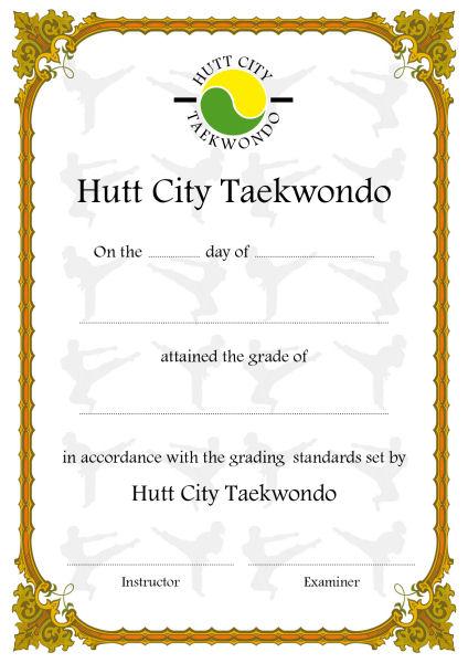 Unique Design and Print samples of certificates